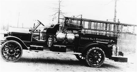 1916 Hahn chemical truck