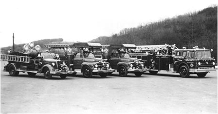 The fleet as it appeared in the 1960's
